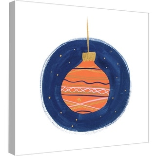"""PTM Images 9-99014  PTM Canvas Collection 12"""" x 12"""" - """"Ornaments 5"""" Giclee Holiday Art Print on Canvas"""
