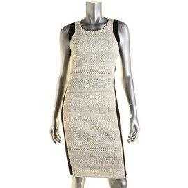 Rebecca Minkoff Womens Metallic Wool Blend Party Dress - 4
