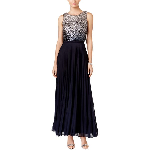 Shop Betsy & Adam Womens Evening Dress Ombre Sequined - Free ...