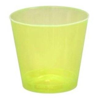 Fineline Settings 402-Y Yellow 2 Oz. Shot Glass