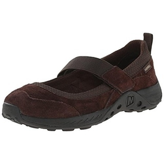 Merrell Girls Jungle Moc Sport Suede Mary Janes - 1 wide (c,d,w)