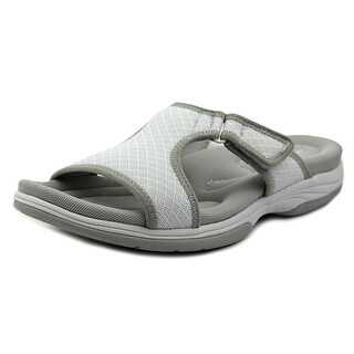 Easy Street Garbo Women W Open-Toe Synthetic White Sport Sandal