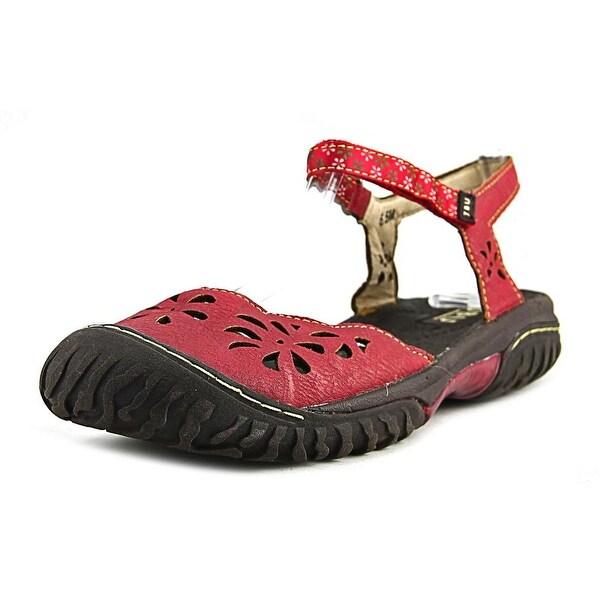JBU by Jambu Ocean Too Red Sandals