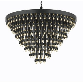 Cosmos 7-Ring Chandelier Lighting - Good for Dining room, Entry Way, Foyer