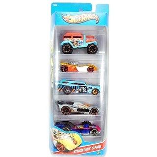 Hot Wheels Attack Pack Car Set - 5 Pack
