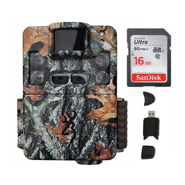 Browning Trail Cameras Strike Force Pro XD w/ 16GB Card & Card Reader - Camouflage