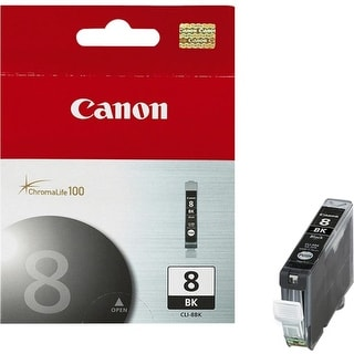 Canon 0620B002M INK CARTRIDGE CLI-8 BLACK FOR