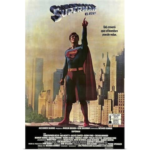"""Superman The Movie (1978)"" Poster Print"