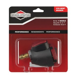 Briggs & Stratton 6197 Pressure Washer 5-in-1 Hose Nozzle, 3200 PSI