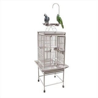 A&E Cage 8001818 Platinum Play Top Cage With 0.63 In. Bar Spacing