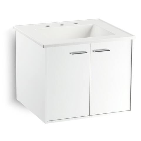 "Kohler K-99539 Jute 24"" Vanity Cabinet Only - Wall Mounted / Floating Installation Type -"