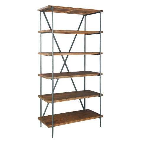 Hekman Furniture Bedford Park Solid Wood Media Bookshelf