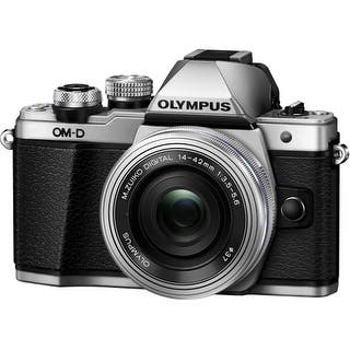 Olympus V207052SU000 Olympus OM-D E-M10 Mark II 16.1 Megapixel Mirrorless Camera with Lens - 14 mm - 42 mm - Silver - 3"