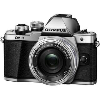 """Olympus V207052SU000 Olympus OM-D E-M10 Mark II 16.1 Megapixel Mirrorless Camera with Lens - 14 mm - 42 mm - Silver - 3"""