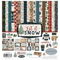 "Carta Bella Collection Kit 12""X12""-Let It Snow"