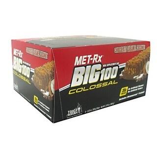 MET-Rx Big 100 Colossal Peanut Butter Prtzel (Box of 9)