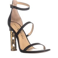 Katy Perry The Vilan Ankle Strap Heeled Sandals, Black