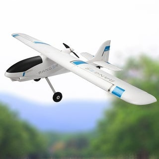 Costway Volantex Ranger 757-4 RC Plane Model Airplane PNP w/ Brushless Motor No Radio