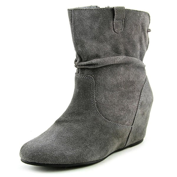 White Mountain Perfect Charcoal Boots