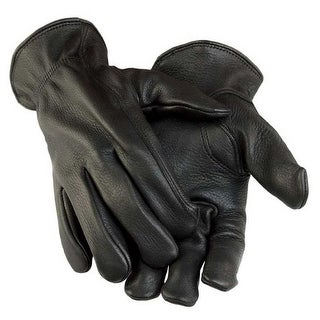 Link to Northstar Men's Black Deerskin Gunn Cut Gloves (Unlined) 011B Similar Items in Gloves
