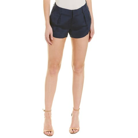 Alice + Olivia Butterfly Silk Short