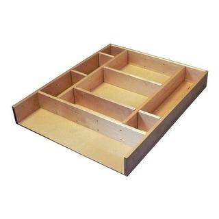 Rev-A-Shelf LD-4CT21-1 LD-4CT Series 2.5 Inch Deep Wood Drawer Organizer Kit 21