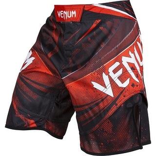 Venum Galactic MMA Fight Shorts - Black/Red