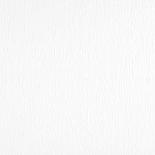 Brewster 2780-67465  Paintable Solutions V 56-3/8 Sq. Ft. - Moe Furrowed Texture - Pre-Pasted Vinyl Wallpaper - - White