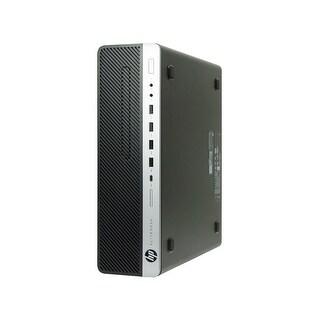 HP EliteDesk 800 G3-SFF Core i7-6700 3.4GHz 8GB RAM 500GB HDD Win 10 Pro PC (Refurbished)