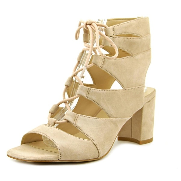 Nine West Take It Up Open Toe Suede Sandals