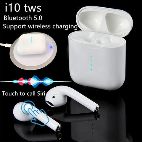 TWS I10 Bluetooth 5.0 Earbuds Touch Control Siri Headphones for IPhone Samsung LG
