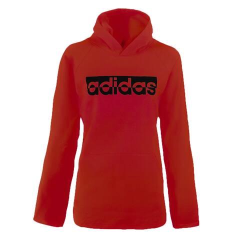 adidas Women's Logo Hooded Sweatshirt