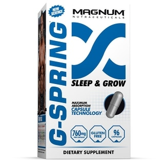 Magnum Nutraceuticals G-Spring - 96 Capsules - Burn Fat and Build Lean Muscle
