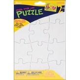 """- Color Your Own Puzzle 12 Pieces 5.5""""X8"""" 2/Pkg"""