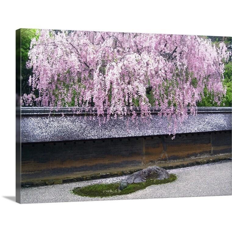 Shop Japanese Zen Garden Canvas Wall Art Overstock 16496153