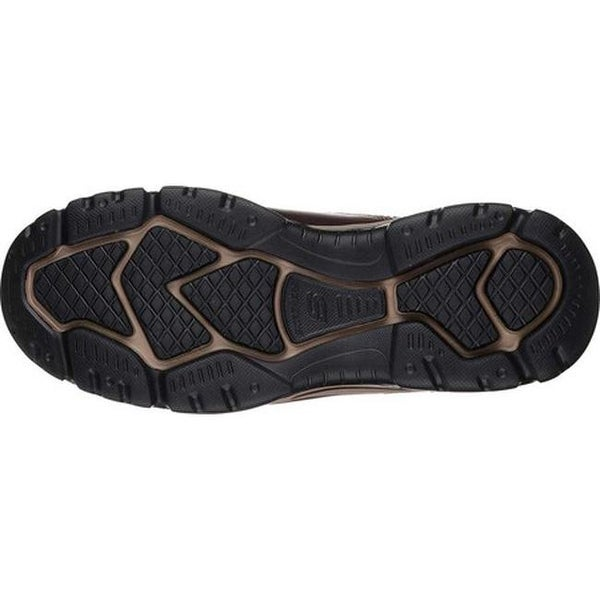 herren Skechers ROVATO Slipper dark brown