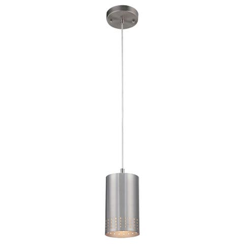 Westinghouse Lighting Phelps Brushed Nickel 1-Light Pendant - N/A