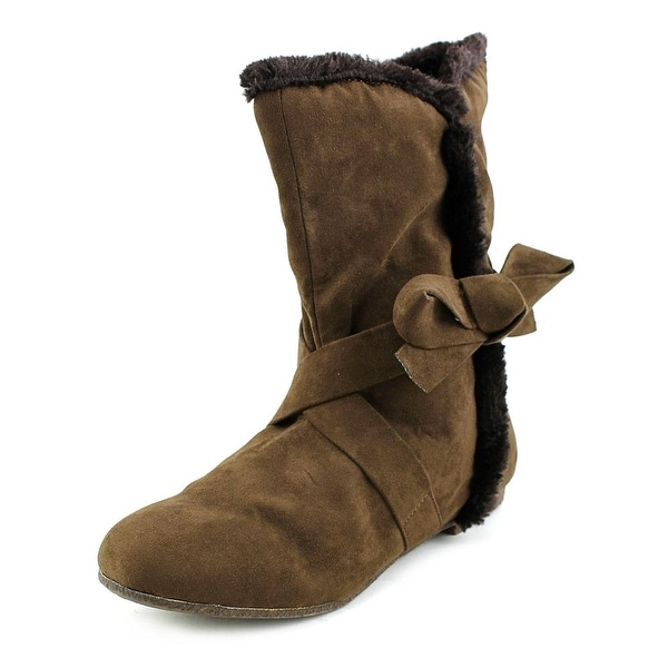 Dolce by Mojo Moxy Hopper Women Round Toe Suede Brown Winter Boot
