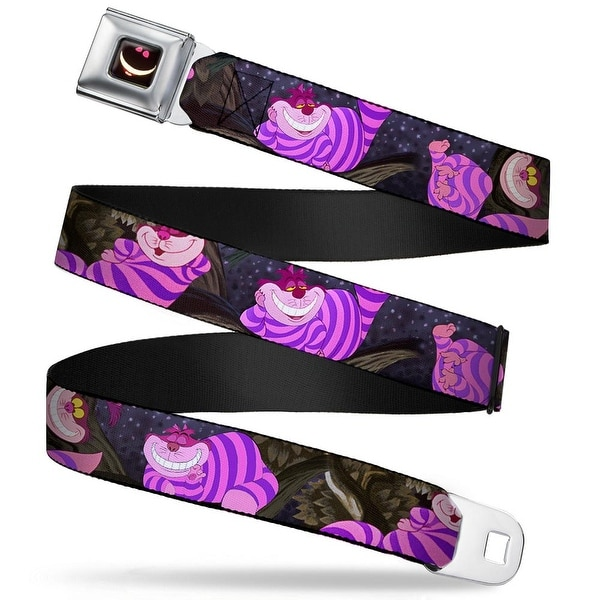 Cheshire Cat Eyes Smile Full Color Alice In Wonderland Cheshire Cat Tree Seatbelt Belt