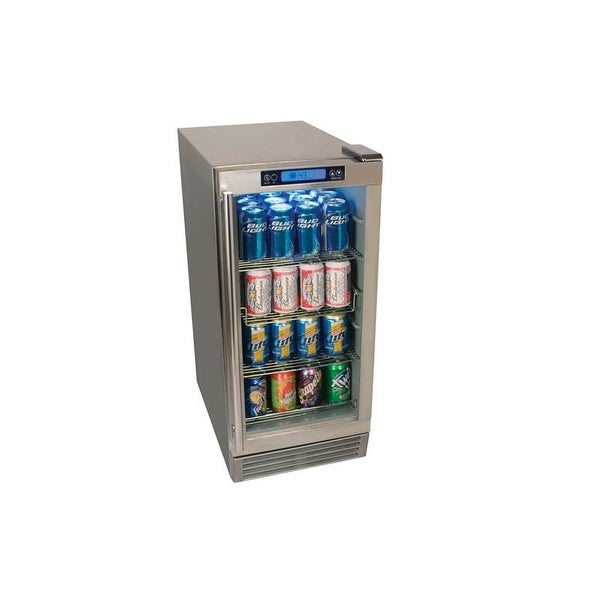 Edgestar Obr900 15 Inch Wide 84 Can Built In Outdoor Beverage