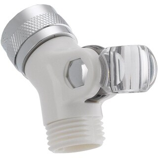 Delta U4002-WH-PK Pin Mount Swivel Connector For Hand Shower, White