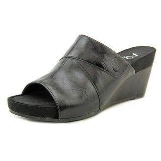 A2 By Aerosoles Light N Sweet Women Open Toe Leather Wedge Heel