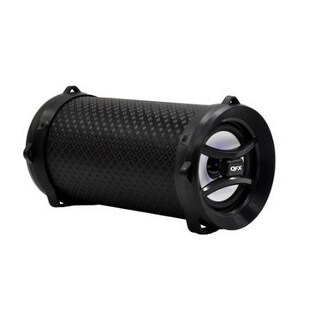 QFX BT142BLACK Portable Sound Cylinder with Bluetooth - Black