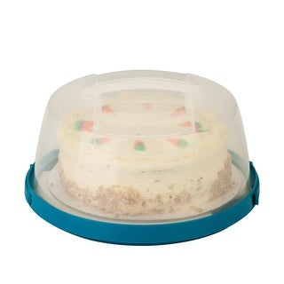 Honey-Can-Do KCH-03840 Round Cake Carrier with Locking Lid