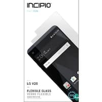 Incipio Flexible Tempered Glass Screen Protector for LG V20 Clear