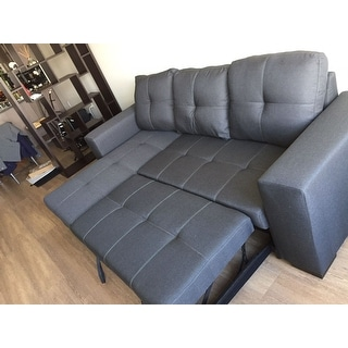 Shop Furniture Of America Sagel Reversible Sectional With