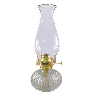 Glo Brite L397CL Ellipse Glass Oil Lamp