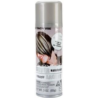 Color Hair Spray 3oz-Silver
