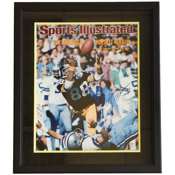 bcf8990f8 Shop Lynn Swann Signed Framed 16x20 Steelers SI Cover Photo SB X MVP  Steiner - Free Shipping Today - Overstock - 22199628