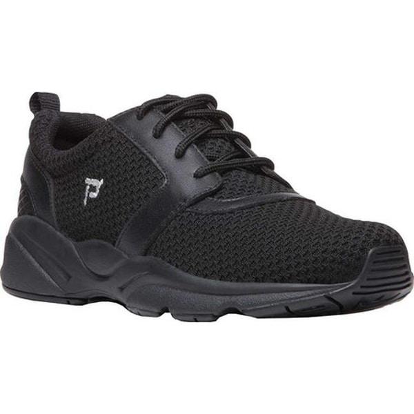 a35b9e5e174e Shop Propet Women s Stability X Walking Sneaker Black Mesh - Free Shipping  Today - Overstock.com - 18910971